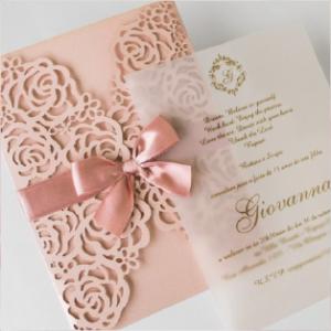Convites de Casamento - Giovanna