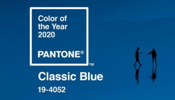 Cor do ano 2020: classic blue no seu convite de casamento