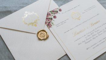 Quanto tempo antes entregar convite de casamento